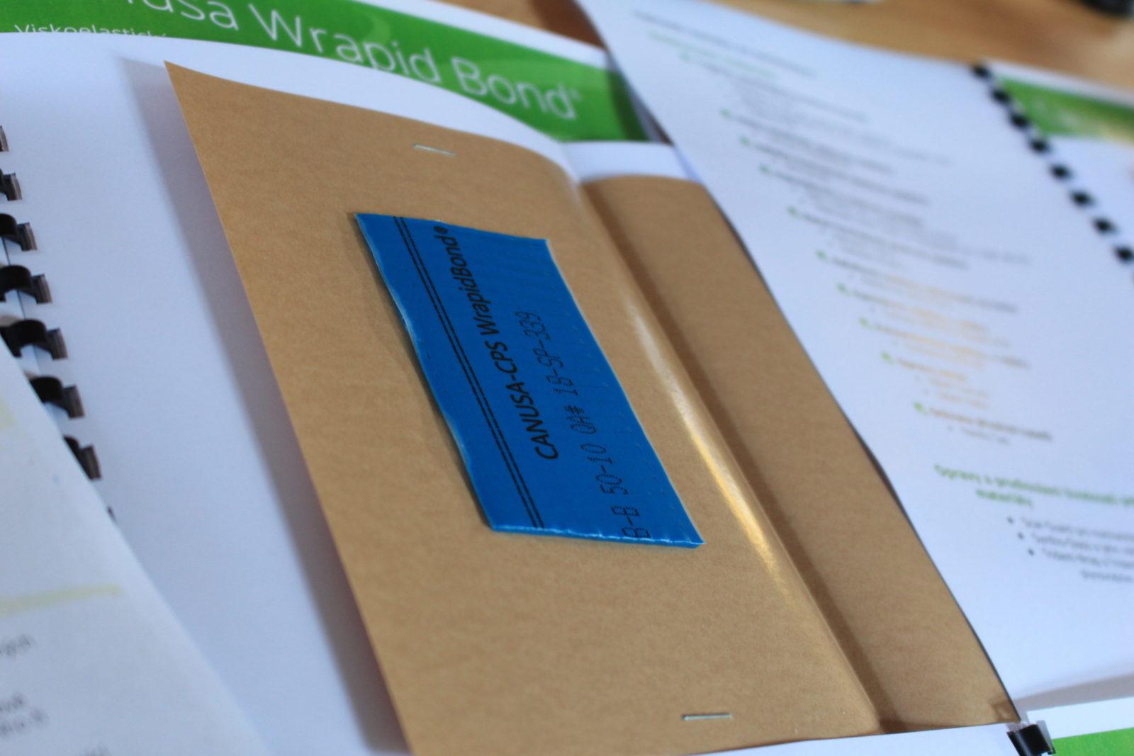 Příprava školících materiálů -- Canusa WrapidBond