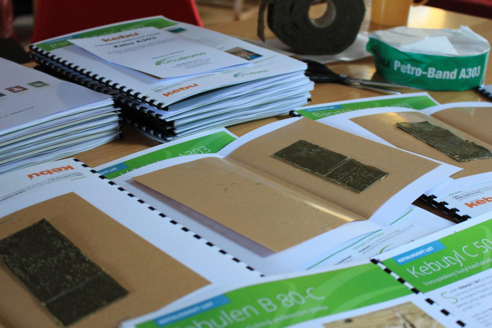 Příprava školících materiálů -- Kebu A303