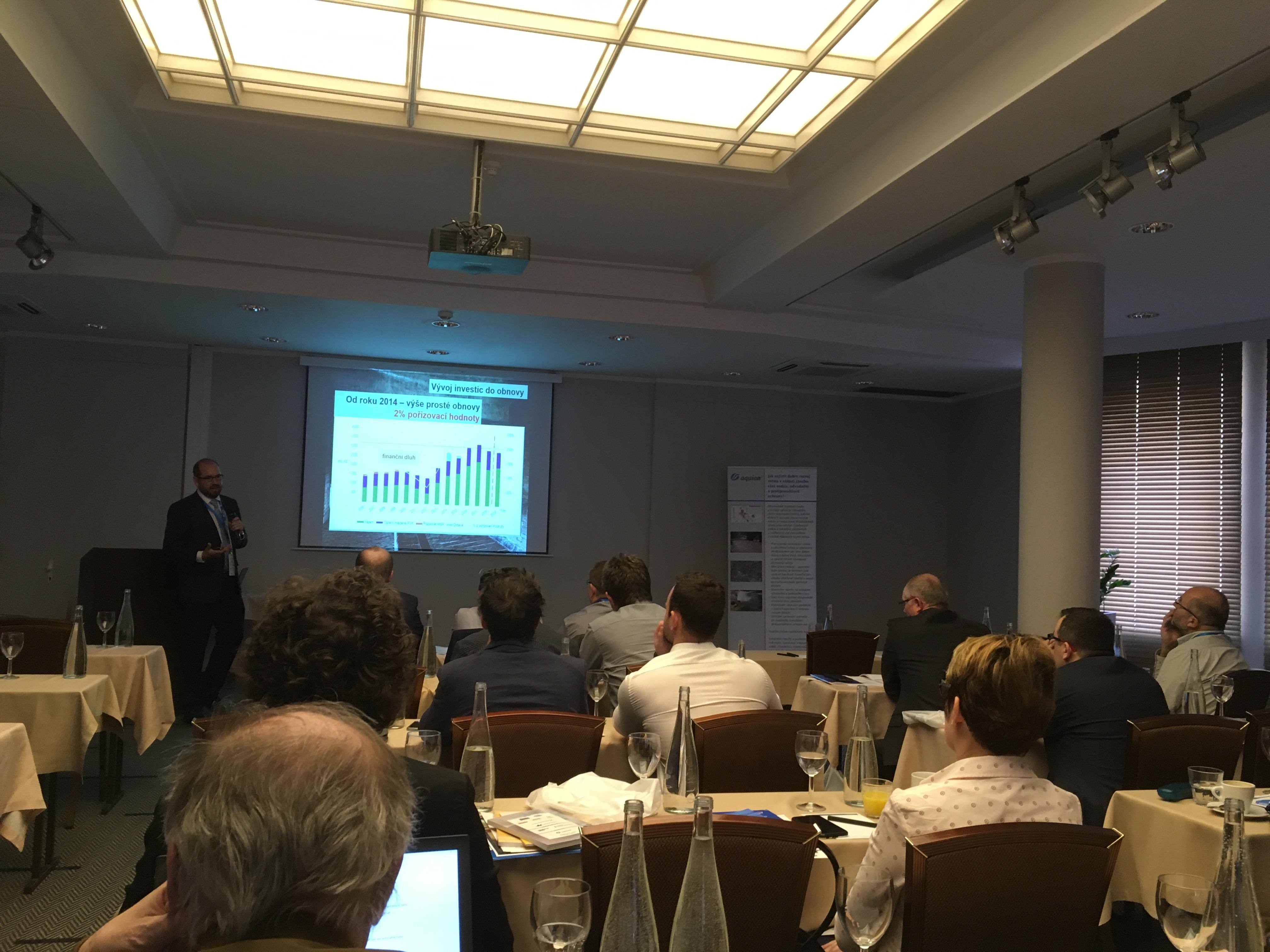 Konference Voda 4.0 ve službách infrastruktury