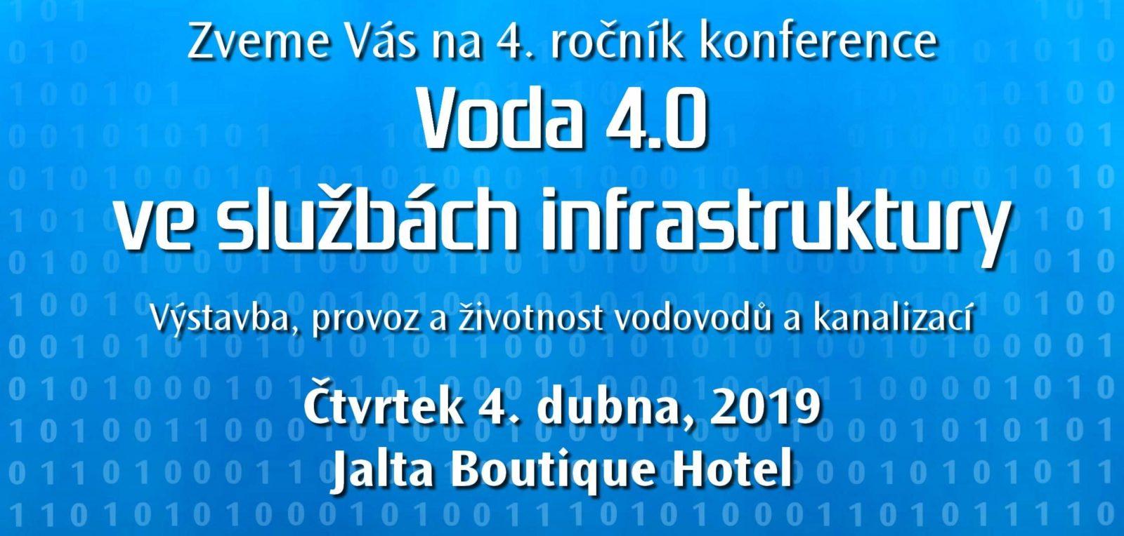 Pozvánka na konferenci Voda 4.0