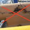 Nesprávné uložení potrubí