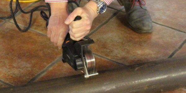 Příprava povrchu nástrojem Bristle Blaster