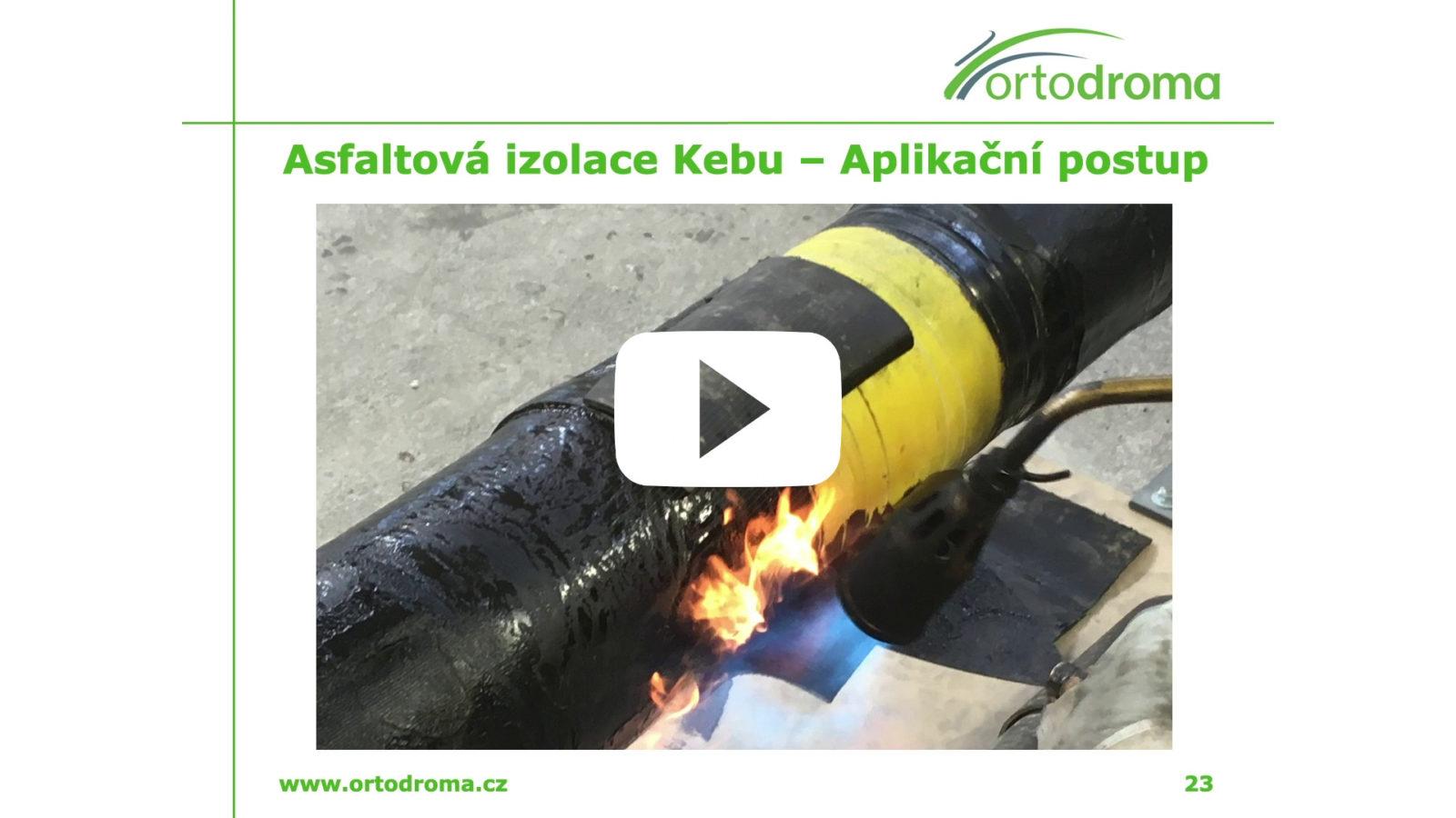 Instruktážní video: asfaltová izolace Kebu